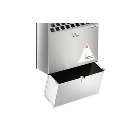 Durable Durable 3382 Cendrier mural en acier inoxydable de 4 litres