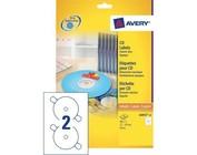 Etiquettes pour CD/DVD