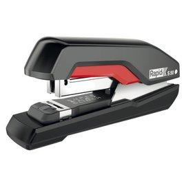Rapid Agrafeuse Rapid S50 SuperFlatClinch 50 fls 24/6 noir/rouge