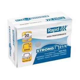 Rapid Agrafes Rapid 21/4 galvanisé strong 5000 pcs