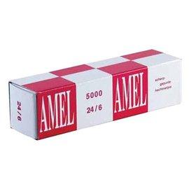 Rapid Nieten Rapid 24/6 kopercoating standaard 5000 stuks