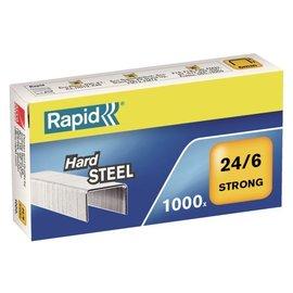 Rapid Agrafes Rapid 24/6 acier strong 1000 pcs