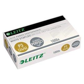 Leitz Agrafes Leitz 24/6 blanc 1000 pcs