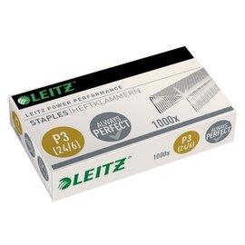 Leitz Agrafes Leitz 24/6 zingué 1000 pièces