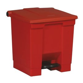 Vepa Bins Step-on classic  container vb006143 30 ltr, Rubbermaid rood