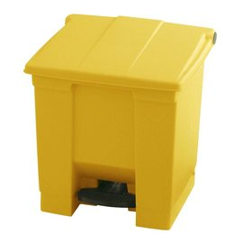 Vepa Bins Step-on classic  container vb006143 30 ltr, Rubbermaid geel