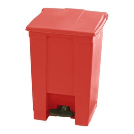 Vepa Bins Step-On Classic Collecteur 45L, Rubbermaid rouge