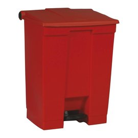 Vepa Bins Step-On Classic Collecteur 68L, Rubbermaid rouge
