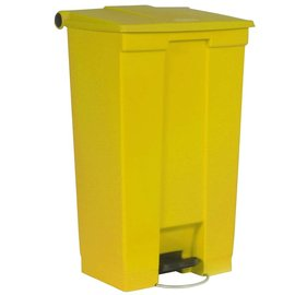 Vepa Bins Step-on classic  container vb006146 87 ltr, Rubbermaid geel