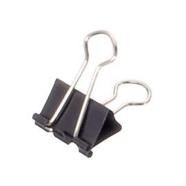 Maul Papierklem Maul 213 foldback 19mm capaciteit 7mm zwart