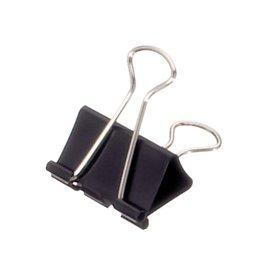 Maul Papierklem Maul 213 foldback 32mm capaciteit 13mm zwart