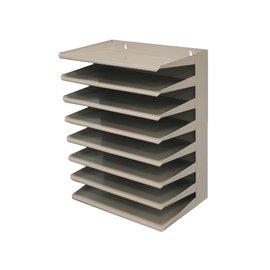 Vepa Bins Etagère trieur 8 compartiments gris