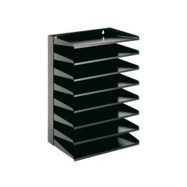 Vepa Bins Etagère trieur 8 compartiments noir