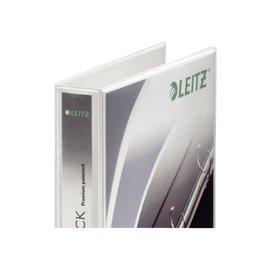 Leitz Classeur panorama à 4 anneaux Leitz SoftClick A4-25mm blanc
