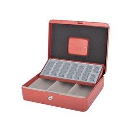 Pavo Coffret caisse Beaumont modèle 212 300x240x90mm rouge