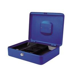 Pavo Caisses à monnaie Pavo 300x240x90mm bleu