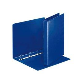 Esselte Classeur panorama à 4 anneaux Esselte A4-25mm bleu