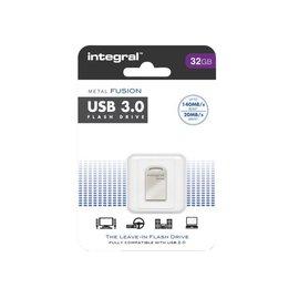 Integral Clé USB 3.0 Integral FD Metal Fusion 32Go