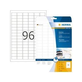 Herma Etiket Herma 8832 30.5x16.9mm mat wit 2400stuks