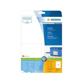 Herma Etiket Herma 5063 105x148mm A6 premium wit 100stuks