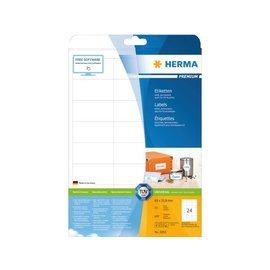 Herma Etiquette Herma Premium 5053 66x33,8mm blanc 600 pièces
