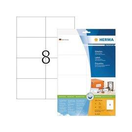 Herma Etiquette Herma Premium 8645 105x74mm blanc 80 pièces