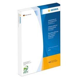 Herma Étiquettes adhésives pour presses, DP4, Ø 65 mm, blanches, adhérence permanente