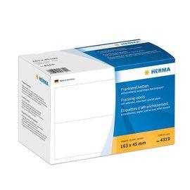 Herma Étiquettes d'affranchissement doubles, 163 x 45 mm, permanentes