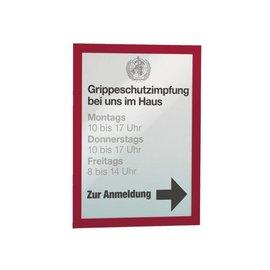 Durable Duraframe Durable 487203 A4 rouge