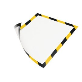 Durable Duraframe Durable 4945-130 security A4 magneet geel/zwart