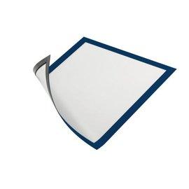 Durable Duraframe Durable 486907 magnétique A4 bleu