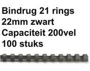 Reliures plastique - 22, 25 & 38 mm - 200 & 225 feuilles