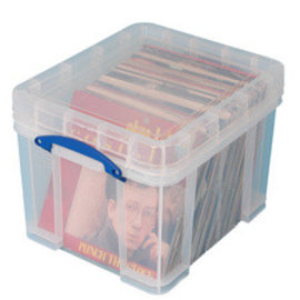 Really Useful RUB 35 liter XL 480x390x345mm transparant