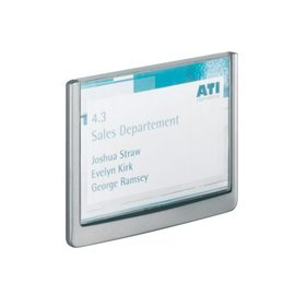 Durable Deurbordje Durable click sign 149x105.5mm grafiet