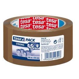 Tesa Verpakkingstape Tesa 50mmx66m bruin PP