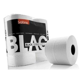 Satino Black Toiletpapier Satino Black 2-laags 400vel 4rollen