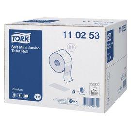Tork Papier toilette Tork T2 110253 2 ép 170m 1200fls 12 rouleaux