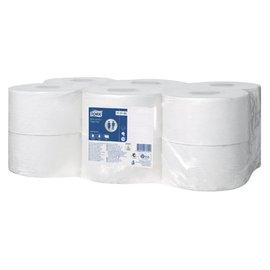 Tork Papier toilette Tork T2 110163 1 ép 240m 1700fls 12 rouleaux