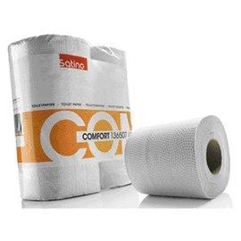 Satino Papier toilette Satino Comfort 2 ép 200 feuilles blanc 4 rlx