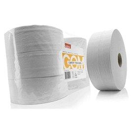Satino Toiletpapier Satino 2-laags Jumborol 66mmx380m wit 6rollen