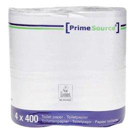 Primesource Papier toilette PrimeSource Duo 2 épaisseurs 400 feuilles 40 rouleaux
