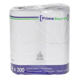 Primesource Papier toilette PrimeSource Duo 2 épaisseurs 200 feuilles 64 rouleaux