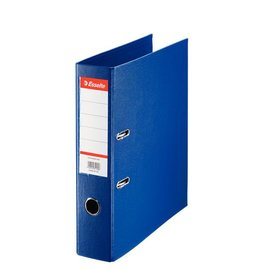 Esselte 10 x  Esselte Plastic Ordner Basic A4 75 mm blauw