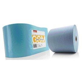 Satino Poetsrol Satino Comfort 2-laags 25cmx370m blauw 2rollen