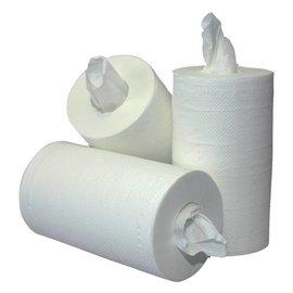 Primesource Rouleau d'essuyage PrimeSource Mini 1 épaisseur 120mx20cm blanc 12 rouleaux