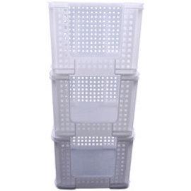 Really Useful Box SET 3 Really Useful Opbergmand 35 liter 710x440x310mm wit