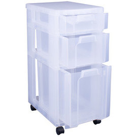 Really Useful Box Really Useful Box Tour de rangement 3 tiroirs
