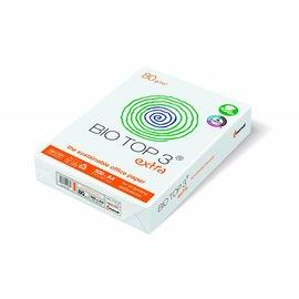 Bio Top 3 Palette Papier copieur Bio Top 3® Extra A4 80g blanc nature 500 feuilles