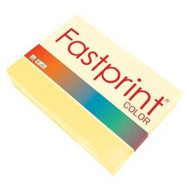 Fastprint Papier copieur Fastprint A4 160g jaune 250 feuilles