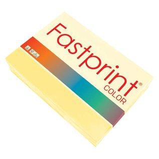 Fastprint Kopieerpapier Fastprint A4 80gr geel 500vel